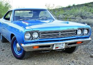 1969 Plymouth RoadRunner Featured on the Cover of the Hemmings News 2014 Calendar Cover
