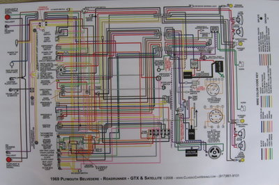 wiring       diagram    pic   For    Plymouth       Road    Runners Only Forums